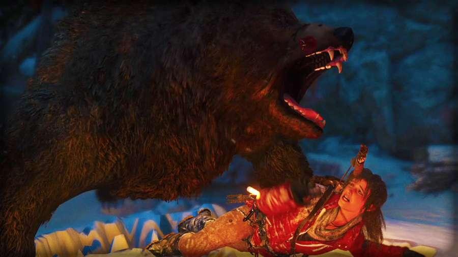 Damn Bear RotTR