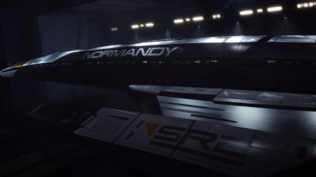 The docked SR-2.
