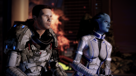 Just catching up with Liara.