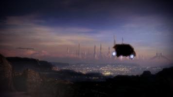 Shuttle screenshots are stupid pretty in Mass Effect 2.