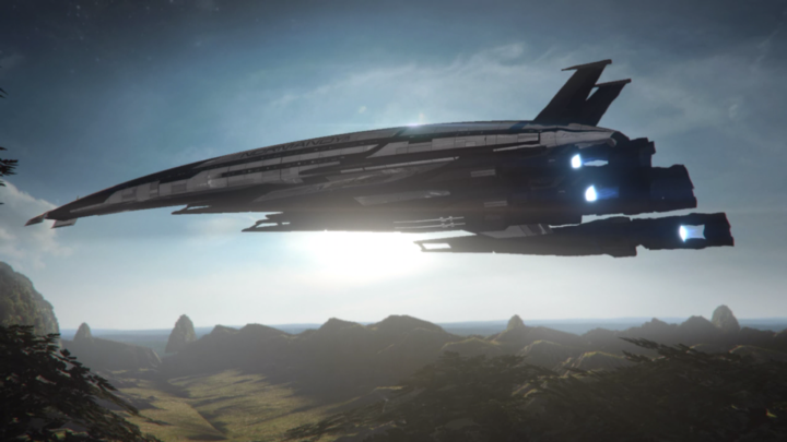 Mass Effect 3 Normandy Takeoff.png