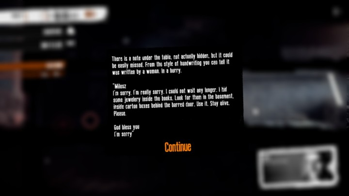 This War Of Mine Letter