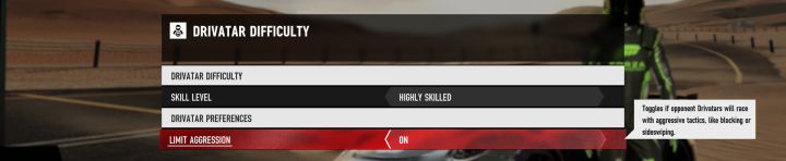 Forza Motorsport 7 Demo Aggression Settings.png