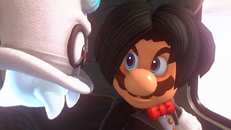 Super Mario Odyssey Emo Mario
