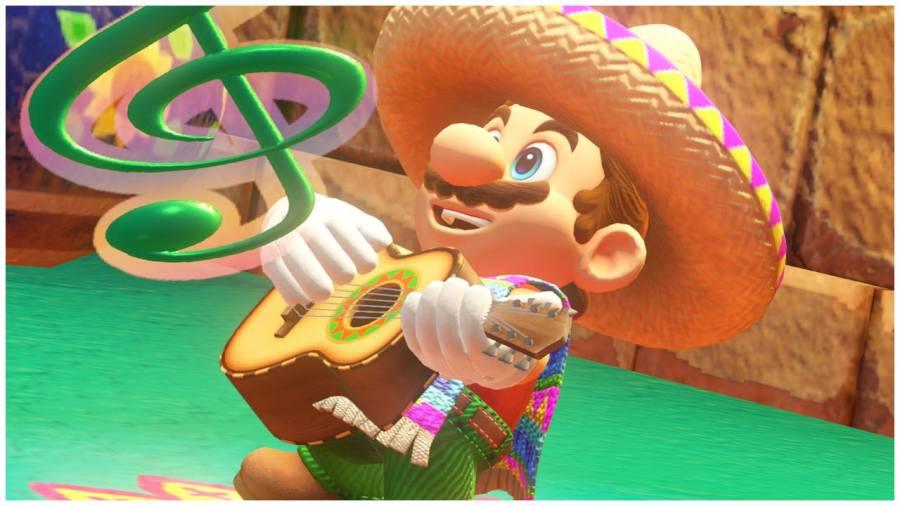 Super Mario Odyssey Mariachi Mario