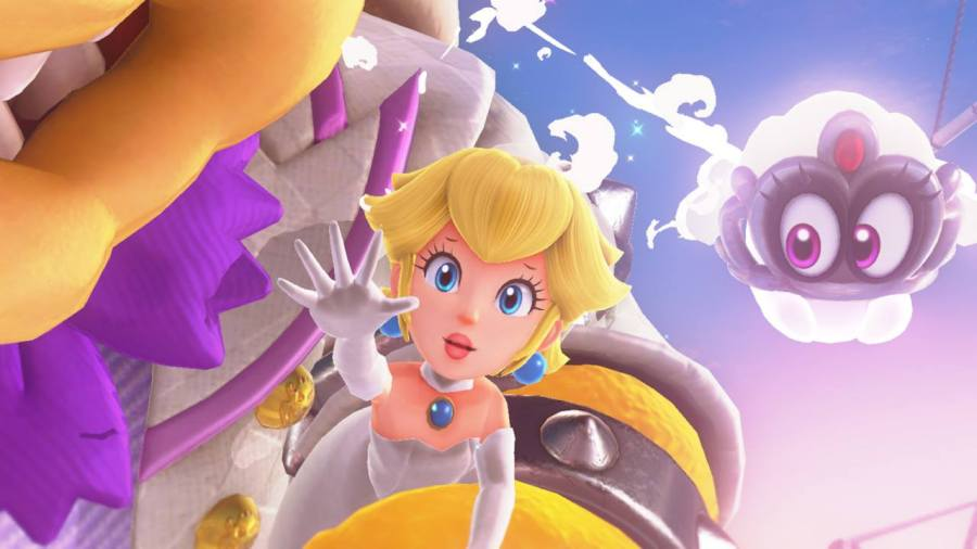 Super Mario Odyssey Peach Reach