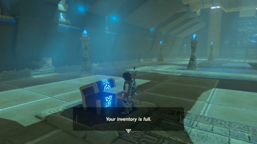The Legend of Zelda Breath of the Wild At War With Your Inventory