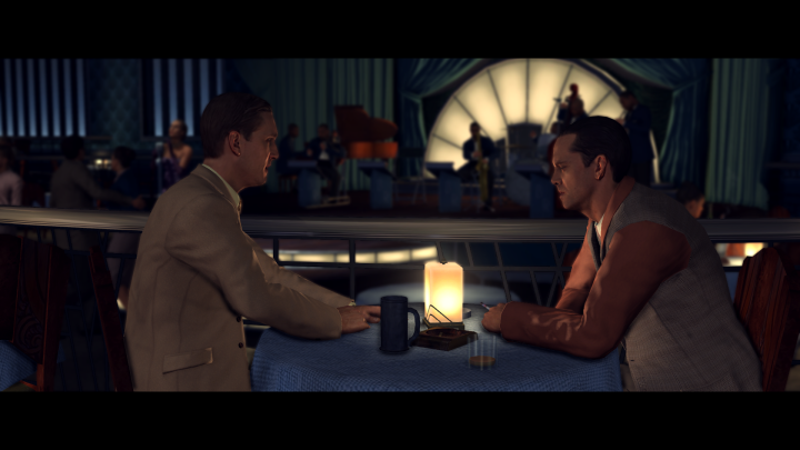 L.A. Noire Dinner Date
