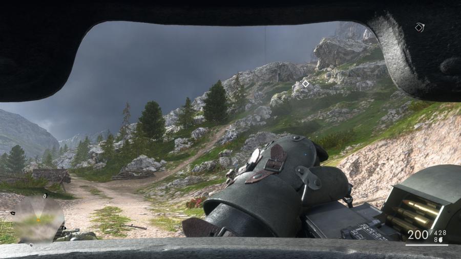 Battlefield 1 Man Tank