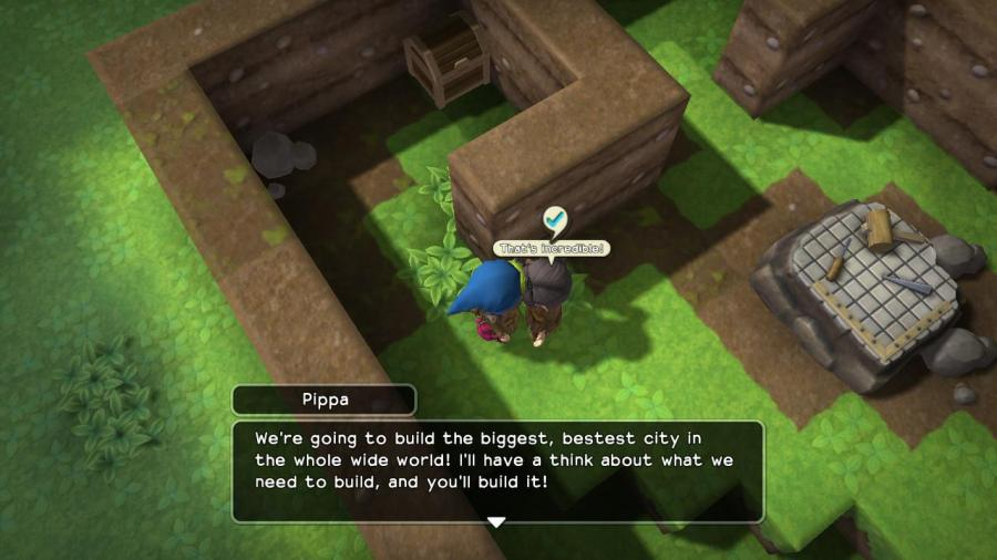 Dragon Quest Builders Ambitious