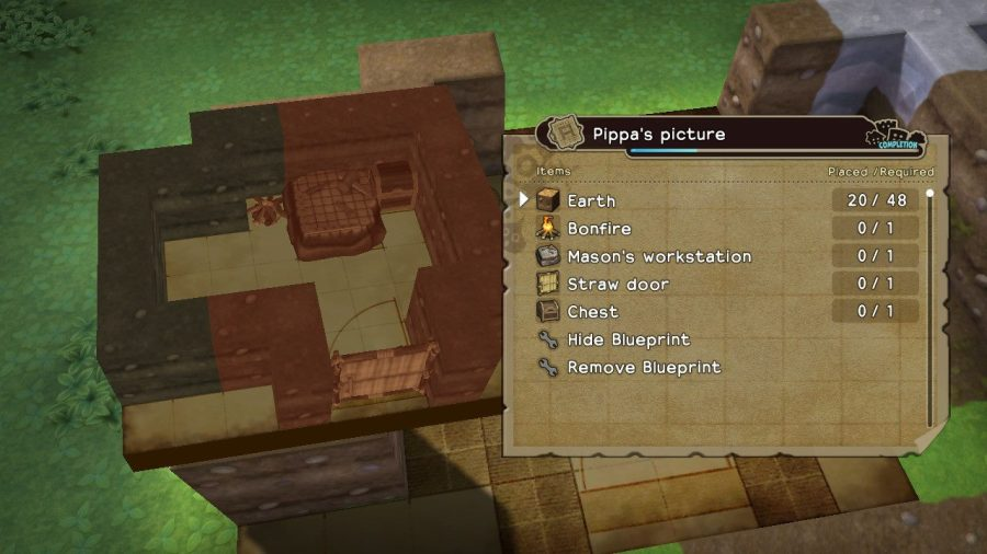 Dragon Quest Builders Blueprint