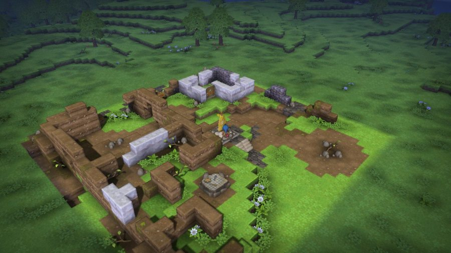 Dragon Quest Builders This Old Town