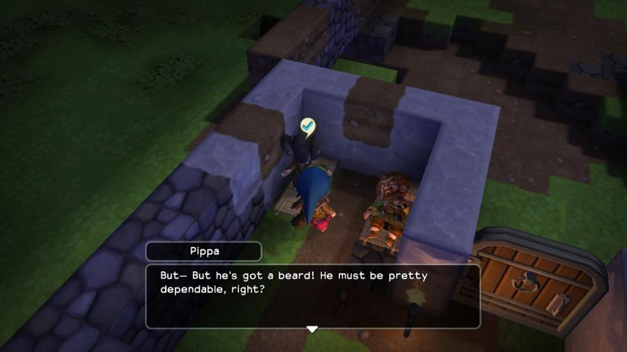 Dragon Quest Builders Trustworthy Beard
